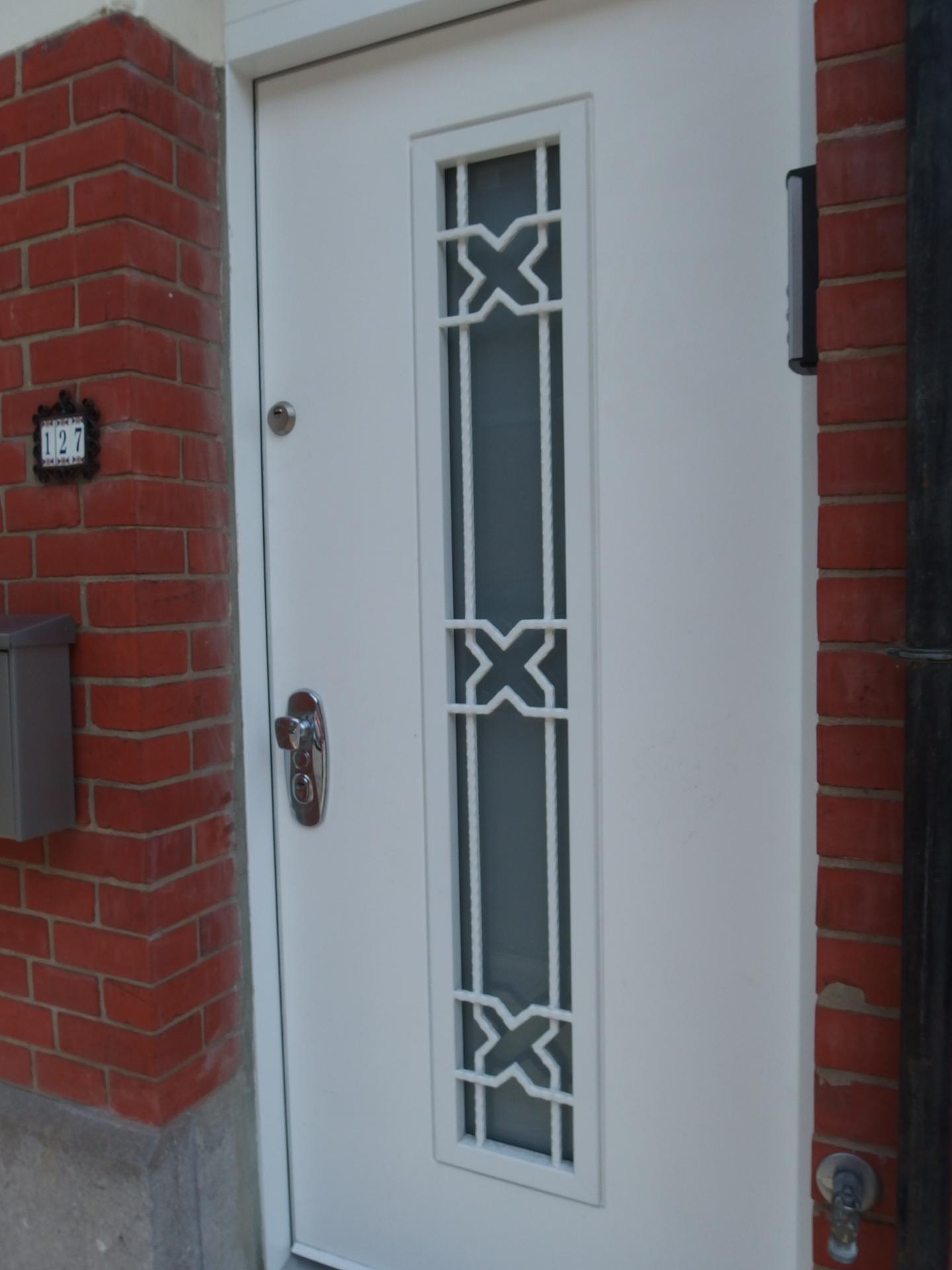 Porte blindee maison wenge 39